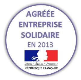 logo agrément entreprise solidaire